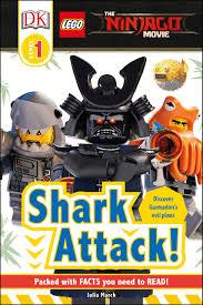 DK Reader LEGO (R) NINJAGO (R) Movie (TM) Shark Attack! [Level 1 ...