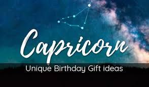 birthday gift ideas for capricorn