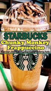 starbucks chunky monkey frappuccino