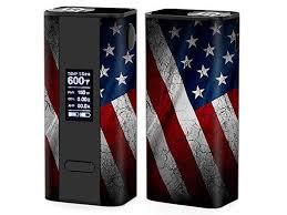 Skin Decal Vinyl Wrap For Joyetech Cuboid 150w Tc Watt Vape Mod Box American Flag Distressed Newegg Com