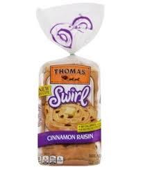 thomas cinnamon raisin bagels 20 oz 6