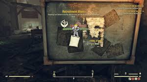 Recruitment Blues Fallout 76 Quest