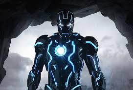 hd wallpaper iron man 4k armor neon