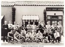Walt Disney Production Team Photograph (c. 1930).... Animation Art   Lot  #95114   Heritage Auctions