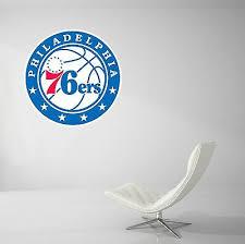 Philadelphia 76ers Basketball Nba Wall Decal Vinyl Decor Car Sticker Art J14 Home Garden Decor Decals Stickers Vinyl Art