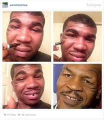 funny makeup transformation meme