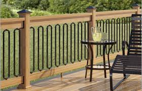 Deck Rail Designs Wrought Iron Railing Check Out Vertical Ideas Cable Home Elements And Style Rope Aluminum Types Of Railings Privacy Elevated Crismatec Com