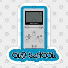 Game Boy Advance Sp Old School Design Gameboy Advance Sp Sticker Teepublic Au