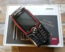 Siemens SP65 limitovaná edícia GTI ...
