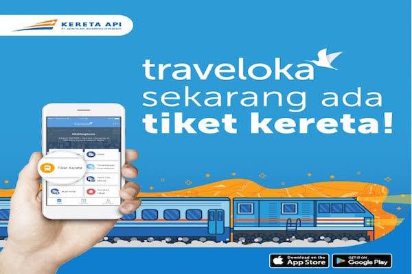 tiket kereta traveloka