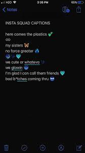 instagram squad captions lit in instagram quotes