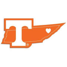 Siskiyou Ncaa Tennessee Volunteers Home State Auto Car Window Vinyl Decal Sticker