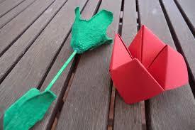 Roses de Sant Jordi per fer amb nens - totnens