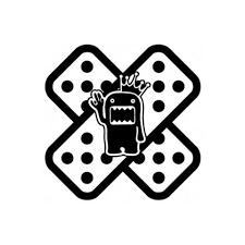 Yjzt 15 15cm Cartoon Fashion Band Aid Jdm Decal Car Sticker Accessorie 2018 At 142 30 Animetee Com Sbra