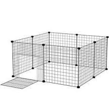 Pet Dog Fence Playpen Rabbit Home Crate Diy Metal Wire Kennel Extendable Pet Cage In 2020 Dog Playpen Indoor Dog Playpen Pet Fence