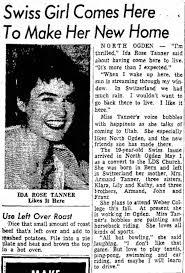 Ida Rose Tanner, daughter of Armand Tanner - Newspapers.com