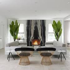 book matched fireplace design ideas