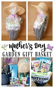 mother s day garden gift basket