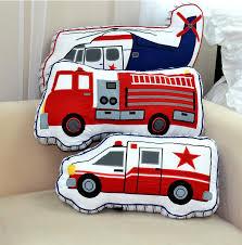 3d Airplane Fire Engine Ambulance Shape Pillow Kids Bedroom Decor Birthday Gift Ebay