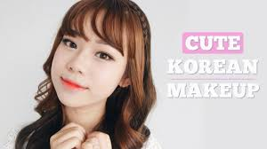 cute korean makeup tutorial eng sub
