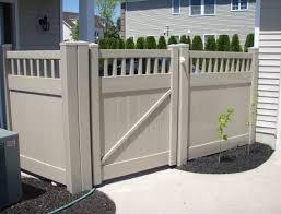 Vinyl Fence Chicago Pvc Fence Illinois Decorative Fencing 60624 Americana Ironworks And Fence