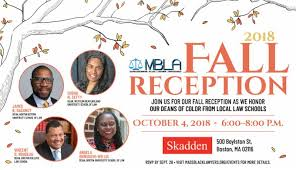 2018 MBLA Fall Welcome Reception