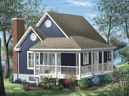 cottage style house plan 1 beds 1