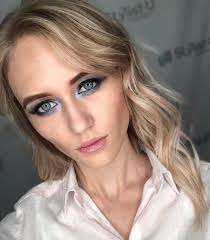 blonde hair and blue eyes