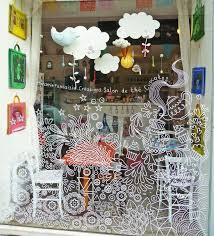 Image Result For Window Decal Design Painted Window Art Window Mural Chalk Pens
