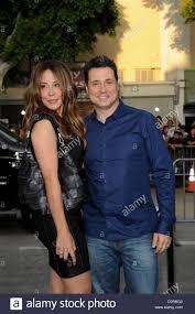 Los Angeles, CA. 26th Aug, 2013. Adam Ferrara, wife Alex at arrivals Stock  Photo - Alamy