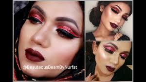 insram inspired glam makeup tutorial
