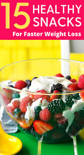 15 healthy weight watchers snacks to