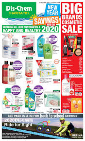 dis chem new year savings 27 dec