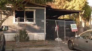 Trailer Burns Down In Taylorsville Mobile Home Park Kutv