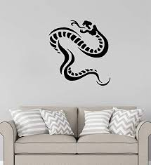 Amazon Com Advanced Store Wall Vinyl Decal Snake Wall Sticker Cobra Truck Window Car Removable Interior Room Wall Stickers Murals Mk8420 Home Kitchen