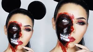 zombie mickey mouse halloween makeup