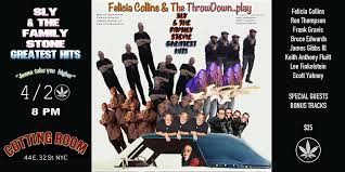 The Cutting Room » Felicia Collins and The Throw Down Play – Tickets – The  Cutting Room – New York, NY – April 20th, 2020