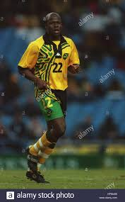 PAUL HALL JAMAICA & PORTSMOUTH FC 07 May 1998 Stock Photo - Alamy