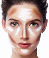 best contouring makeup for an oval