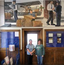 New mural unveiled at Barnesville Post Office in Ohio | Living New Deal