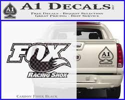 Fox Shox Decal Sticker D1 A1 Decals