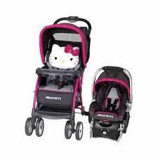 car seat stroller combo hello kitty car