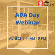 ADA Day Webinar (5 LU | HSW) – AIA – East Bay Chapter