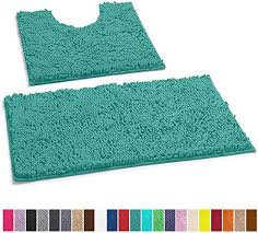 luxurux bathroom rugs luxury chenille 2