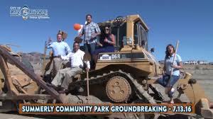summerly munity park groundbreaking