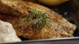 Hudson's Baked Tilapia with Dill Sauce ...