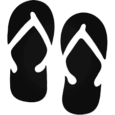 Hawaii Flip Flops Sandal 4 Vinyl Decal Sticker