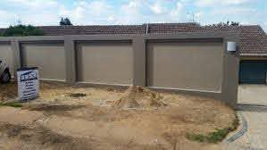 Building Services New Boundary Wall Flexirenovations House Fence Design House Gate Design Boundary Walls