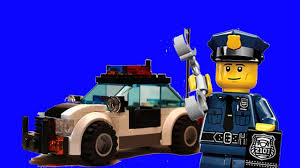Cảnh Sát LEGO - LEGO Police Car - Xe Ô Tô Cảnh Sát LEGO