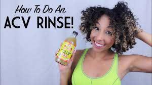 acv rinse apple cider vinegar